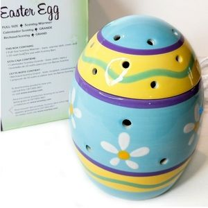 Scentsy Easter Egg Full Size Warmer New with Box